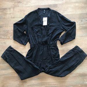 Zara Rockin Black Jumpsuit